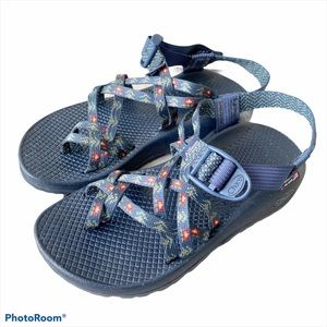 Chaco Limited Edition ZX/2 Smokey Navy Forest 6